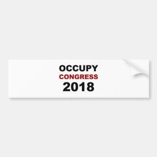 Occupy Congress 2018 Bumper Sticker
