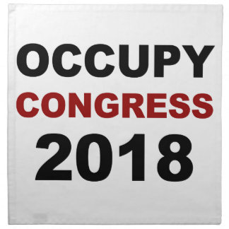 Occupy Congress 2018 Napkin