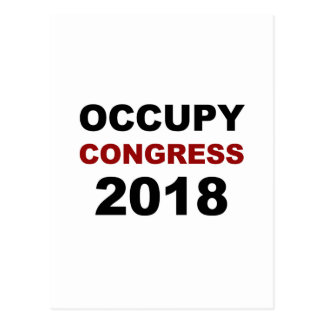 Occupy Congress 2018 Postcard