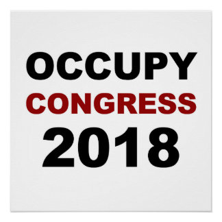 Occupy Congress 2018 Poster