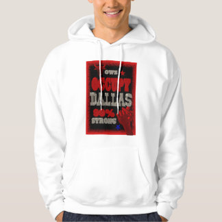 Occupy Dallas OWS protest 99 percent strong Hoodie