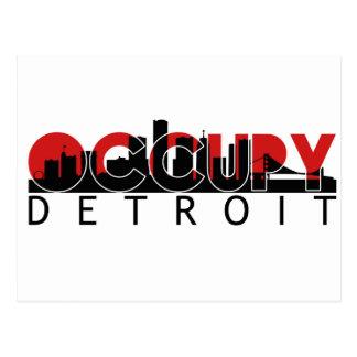 Occupy Detroit Postcard