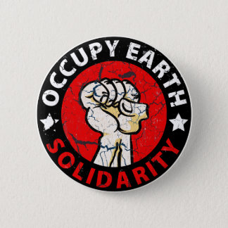Occupy Earth 2 Inch Round Button