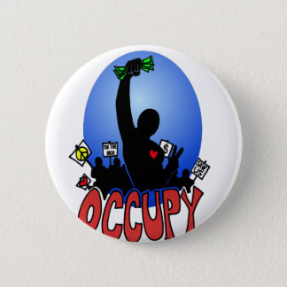 OCCUPY EVERYWHERE 2 INCH ROUND BUTTON