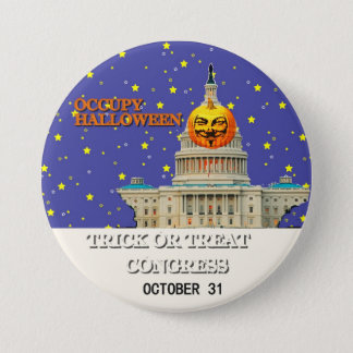 Occupy Halloween 3 Inch Round Button