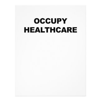 OCCUPY HEALTHCARE CUSTOM LETTERHEAD