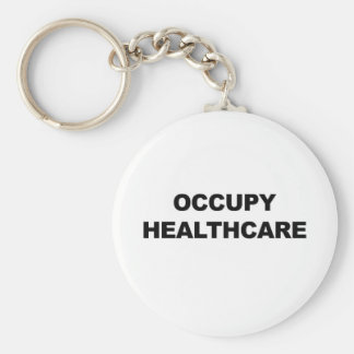 OCCUPY HEALTHCARE KEYCHAIN