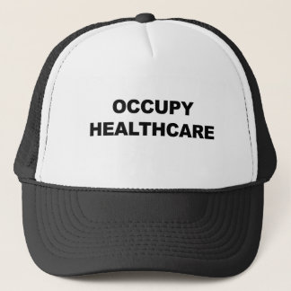 OCCUPY HEALTHCARE TRUCKER HAT