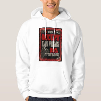 Occupy Las Vegas OWS protest 99 percent strong Hoodie