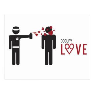 Occupy Love cool Design Postcard