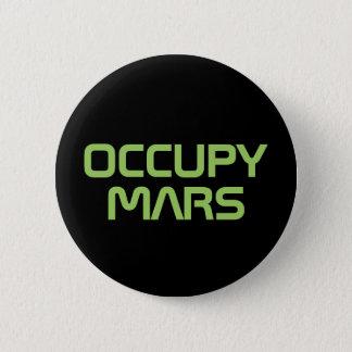 """OCCUPY MARS"" 2.25-inch button"