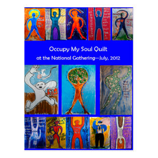 Occupy My Soul Quilt National Gathering Postcard