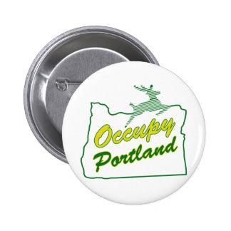 Occupy Portland Pin