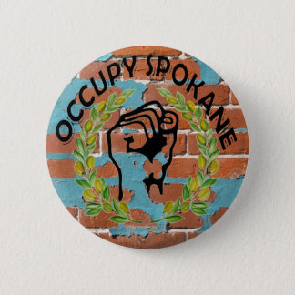 OCCUPY SPOKANE 2 INCH ROUND BUTTON