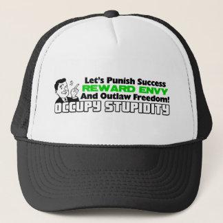 Occupy Stupidity Trucker Hat