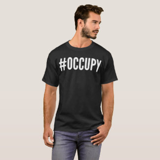 """""""#Occupy"""" Typography T-Shirt"""