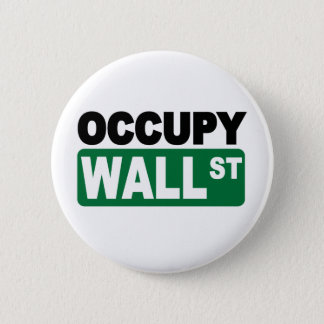 Occupy Wall St. 2 Inch Round Button
