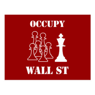 Occupy Wall St Postcard