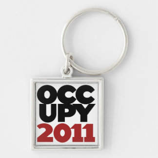 Occupy Wall Street 2011 Keychain
