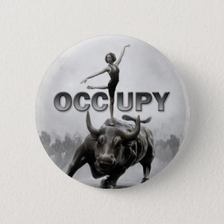 Occupy Wall Street 2 Inch Round Button
