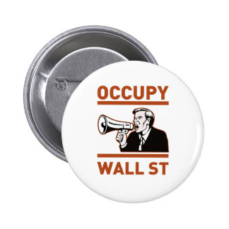Occupy Wall Street America Button