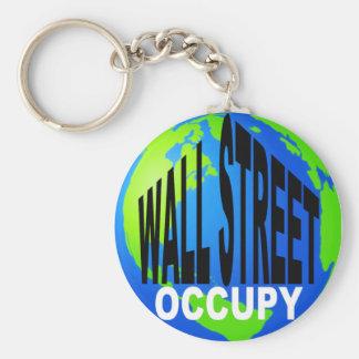 Occupy Wall Street Global Keychain