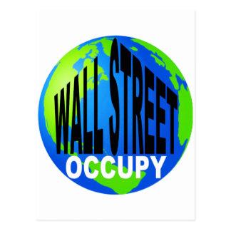 Occupy Wall Street Global Postcard