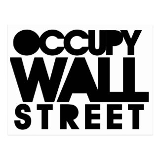 Occupy Wall Street Post Cards