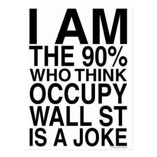 Occupy Wall Street Postcard