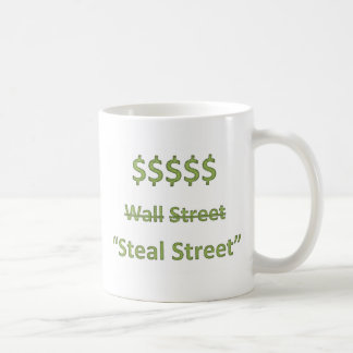 Occupy Wall Street Retro Coffee Mug