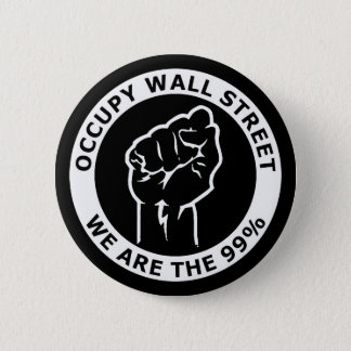 Occupy Wall Street, We Are The 99% 2 Inch Round Button