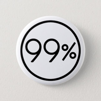 Occupy Wall Street We are the 99% Button