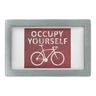 Occupy Yourself Belt Buckle