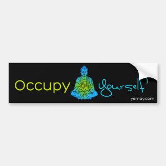 Occupy Yourself Bumpersticker Bumper Sticker