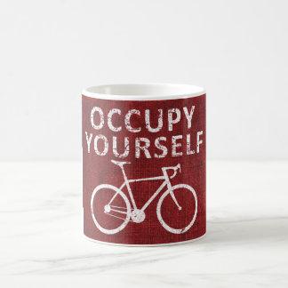 Occupy Yourself Coffee Mug