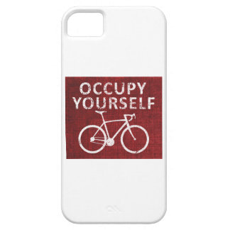 Occupy Yourself iPhone 5 Cover
