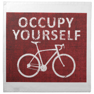 Occupy Yourself Napkin