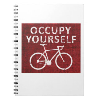 Occupy Yourself Spiral Note Book