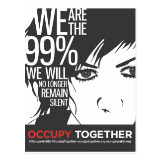 OccupyTogether_poster01 Postcard