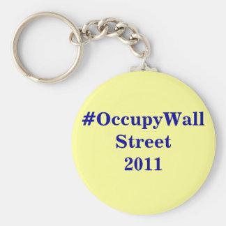 #OccupyWallStreet keychain