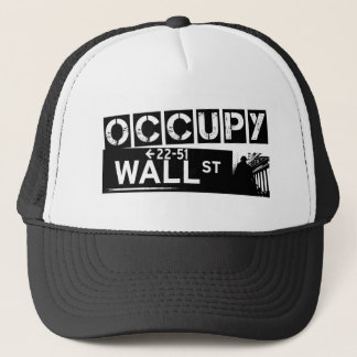 occupywallstreett-shirt-white trucker hat
