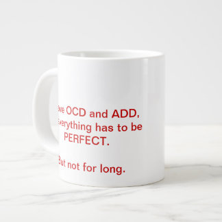 OCD and ADD mug