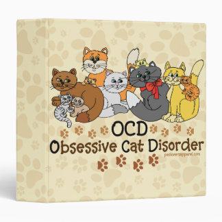 OCD Obsessive Cat Disorder Binders