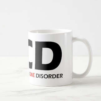 OCD - Obsessive  Cellphone Disorder Classic White Coffee Mug