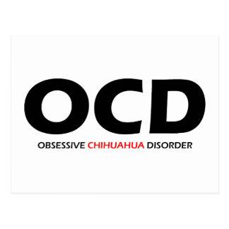 OCD - Obsessive Chihuahua Disorder Postcard