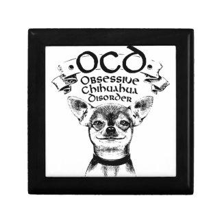OCD obsessive chihuahua Gift Box