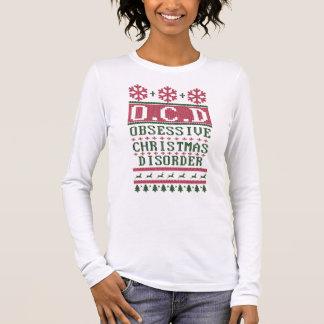 OCD Obsessive Christmas Disorder Long Sleeve T-Shirt