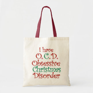 OCD - Obsessive Christmas Disorder Tote Bag