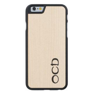 Ocd wood cellphone case