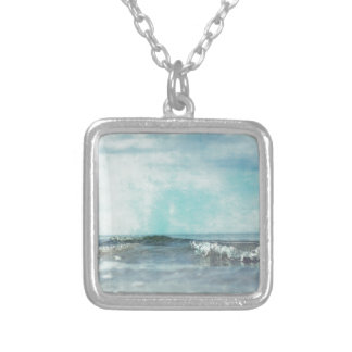 ocean 2235 silver plated necklace